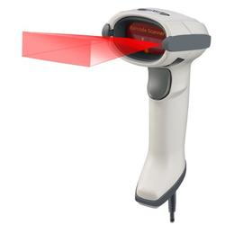 Adesso NuScan 7600TU-W 2D Antimicrobial Handheld Barcode Scanner - White
