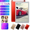 10.1 inch WiFi Tablet PC Ten Core Android 9.0 6GB+ 64GB Dual SIM Dual Camera Tablet, Red