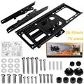 SUNYUAN Full Motion TV Mount TV Wall Rack for 26-55 Inch LED LCD Flat Screen TV, Perfect Center Design