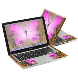 """Mightyskins Protective Skin Decal Cover for Apple MacBook Pro 13"""" with 13.3 inch screen wrap sticker skins Butterfly Love"""