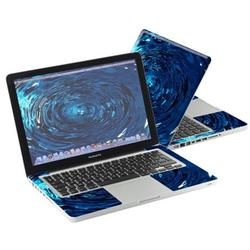 """Mightyskins Protective Skin Decal Cover for Apple MacBook Pro 13"""" with 13.3 inch screen wrap sticker skins Blue Vortex"""