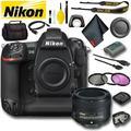 Nikon D5 DSLR Camera (Dual CF Slots) (Intl Model) Standard Bundle