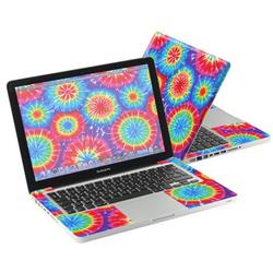"""Mightyskins Protective Skin Decal Cover for Apple MacBook Pro 13"""" with 13.3 inch screen wrap sticker skins Tie Dye 1"""