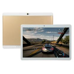 10.1 inches 4+64GB WiFi Tablet, Bluetooth 4.1 Android 9.0 HD 2560 * 1600 Game Phone Tablet Computer, Gold