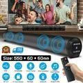 Bluetooth Speaker Sound Bar Wired Wireless Subwoofer Bass Home Theater TV Remote