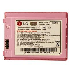 LG LGLP-AGKM Replacement Battery for the LG Chocolate Phone - Pink 800mAh (Refurbished)