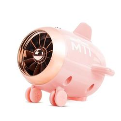 Mini Speaker Portable Wireless Speaker Built-in Mic 10-Hour PlayTime Digital Smart Speaker for Home Outdoor Ttravel Pink