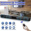 22 inch 360° Stereo 3D Surround Sound Bar Soundbar Wireless h Speaker Audio System Home Theater Subwoofer Amplifier For TV PC Desktop Laptop Tablet Smartphone