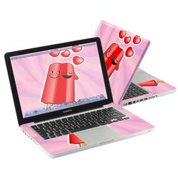 """Mightyskins Protective Skin Decal Cover for Apple MacBook Pro 13"""" with 13.3 inch screen wrap sticker skins Popsicle Love"""