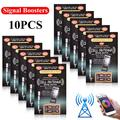 Famure 10 x Cell Phone Signal Boosters for Cell Phones Two Way Radios PDA's Walkie Talkies Beeper, and Even Cordless Phones in Your House