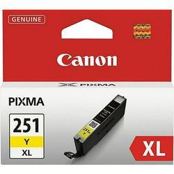 Canon CLI-251Y XL Ink Tank CLI-251XLY Ink Cartridge - Yellow
