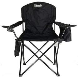 Coleman® Camping Chair with Built-In 4-Can Cooler, Black 2 Packs