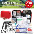 Bestgoods 230Pcs Emergency Survival Kit Outdoor For Sport Camping Emergency Preparedness Tools Box Kit Set for Car with Tools Pack or Outdoor Hiking, Camping Gear for Men Unique Gifts