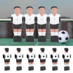 Kritne Table Football Man,11Pcs 1.4M Table Soccer Ball Player Man Replacements Table Football Game Machine Accessory,Table Football Game Accessory
