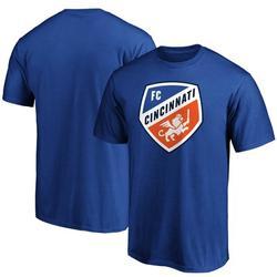 FC Cincinnati Fanatics Branded Team Primary Logo T-Shirt - Royal