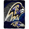 "NFL Baltimore Ravens 60"" x 80"" Oversized Micro Raschel Throw, 1 Each"