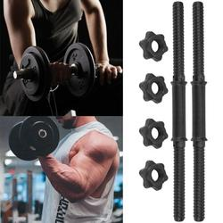 CHICIRIS Spinlock Collar Dumbbell,(2Pcs/Set) Gym Home Training Dumbbell Bars Weight Lifting Handles with 4 Spinlock Collar,Weight Lifting Handles