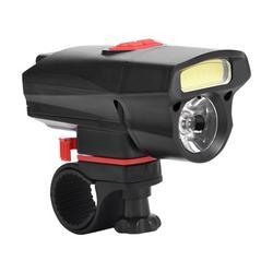 Mgaxyff Bike Headlight, Bike Waterproof Lamp,Super Bright Bike Front Waterproof LED Lamp Head Light Cycling Night Riding Accessory