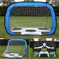 ANGGREK Football Goal Post,Kids Soccer Goal Post Net Indoor Outdoor Game Match Shooting Training Children Football Net