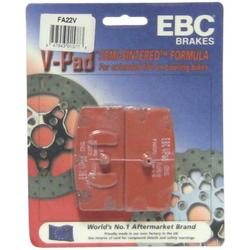 EBC Brakes FA22V Semi Sintered Disc Brake Pad, Made using high pressure die cast aluminum platforms with bonded brake linings By Brand EBC Brakes