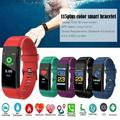Smart Watch Fitness Tracker IP67 Touch Control Blood Pressure Heart Rate Monitoring