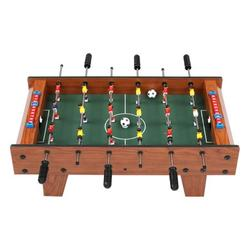 """27"""" Foosball Table, Wooden Soccer Game Room Table Top w/ Footballs, Suitable for Bars, Parties, Family Night"""