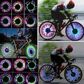 PROKTH LED Bike Spoke Light Waterproof Bicycle Wheel Tire Light for Cycling, Safety Cool Bike Accessories, Double Intelligent Induction Switch, Super Bright, 32 Different Patterns