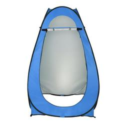 UBesGoo Automatic Pop Up Shower Tent Waterproof Oxford Fabric Blue
