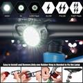 Yinrunx Bike Lights Front and Back Usb Charging Bike Light Set Bike Lights Warning Bicycle Accessories Bike Accessories Light Waterproof Bright Led Bicycle Headlight Taillight Bicycle Rear Tail Light