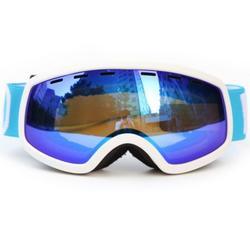 Kid Ski Goggles Double Layers UV400 Anti-fog For Children UV400 Anti-fog Glasses Skiing Girls Boys Snowboard Large Spherical Child Goggles
