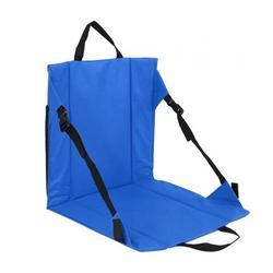 Dilwe Folding Recliner , Folding Padded Cushion Chair Seat Stadium Bleacher Sport Recliner , Stadium Bleacher Chair
