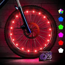 Bike Wheel Lights Easter Basket Waterproof Bike Spoke Light forMen Present Super Bright Auto Off LED Cycling Bicycle Light with Batteries, Cool Kids Bike Accessories for Adult and Kids Gift
