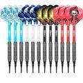 CyeeLife Soft Tip Darts Set 12 Grams with PVC Dart shafts(4 Colors),Home Darts Set