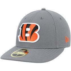 Cincinnati Bengals New Era Storm Low Profile 59FIFTY Fitted Hat - Graphite