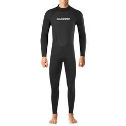 2mm Neoprene Full Body Dive Wetsuit Rash Guard for Men Women Protection Swimwear for Snorkeling Surfing Diving Swimming Sailing