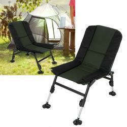 Mgaxyff Folding Lounge Chair,Portable Outdoor Lounge Chair Lightweight Folding Chair for Camping Beach Garden Fishing,Fishing Chair