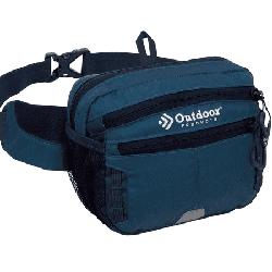 Outdoor Products Echo 3 Ltr Waistpack, Fanny Pack, Waist Pack, Blue, Unisex