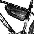 WILD MAN Bike Bicycle Triangle Bag, Bike Bicycle Storage Bag for Mountain Road Commute Electric Bike, Waterproof Bike Frame Bag for Cycling Accessories, 1.5 L