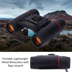 Brrnoo 30x60 Day Night-Vision Binoculars Mini Pocket Binoculars Folding Small Telescope with Carry Bag for Kids Adults Outdoor Travel Hiking Sightseeing