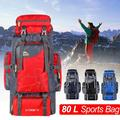 Novashion 80L Hiking Backpack, Internal Frame Hiking Backpack, Alpine Climbing Backpack, Travel Camping Backpack for Women, Men (70L + 10L)