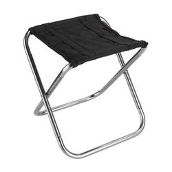 Foldable Chair Portable Folding Chair Outdoor Folding Stool Small Folding Seat Aluminum Camping Chair with Storage Bag Folding Stool for Camping Fishing Picnic Beach
