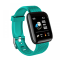 Peyan Smart Watch Fitness Tracker Watches Heart Rate Monitor IP67 Waterproof Digital Watch with Step Calories Sleep Tracker Green