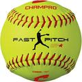 """CHAMPRO 11"""""""" Recreational Fast Pitch Softball - Durahide Cover, Optic Yellow (CSB66), PRACTICE BALL: These 11� softballs are all unaffiliated with.., By Visit the CHAMPRO Store"""