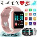 Smart Watch Compatible with iPhone Samsung Waterproof Smartwatch Sports Watch Fitness Tracker Heart Rate Monitor Digital Watch Smart Watches for Men Women