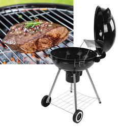AMONIDA BBQ Grill Smoker,BBQ Smoker,Portable Barbecue Grill Stove Smoker BBQ Accessory for Outdoor Courtyard Picnic Camping