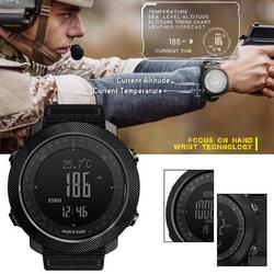 PROKTH Men's New Style for NORTH EDGE Sport Digital Watch Hours Outdoor Sports Running Swimming Military Army Multifunctional Smart Watches Altimeter Barometer Compass waterproof 50m