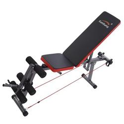 Naiflowers Height Adjustable Weight Bench Sit Ups Bench Abdominal Exercise Workout Bench Push Ups Bench Beauty Waist Bench Dumbbell Fitness Bench for Home Use Full Body Workout
