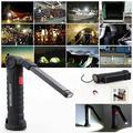 Kohree Portable Rechargeable Magnetic COB LED Slim Work Flashlight for Car Repairing, Workshop, Garage, Camping, Emergency Lighting