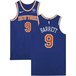 RJ Barrett New York Knicks Autographed Game-Used #9 Blue Jersey vs. Indiana Pacers on December 23, 2020 - Size 48+4 with Game Used Inscriptions - Fanatics Authentic Certified