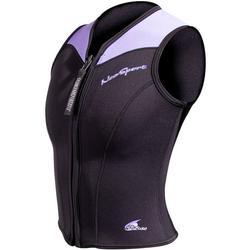 2.5mm Women's NeoSport Wetsuit Vest - Front Zip